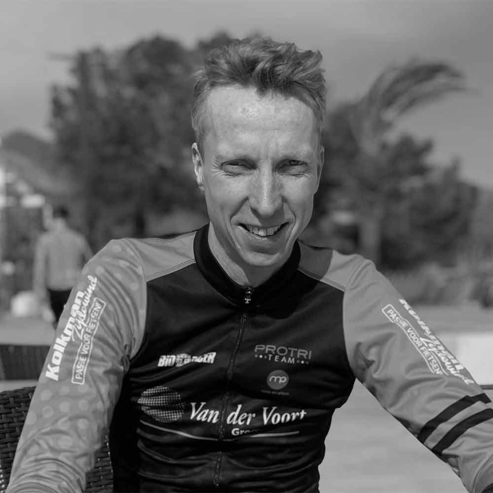 Eric van der Linden triatlon Schagen